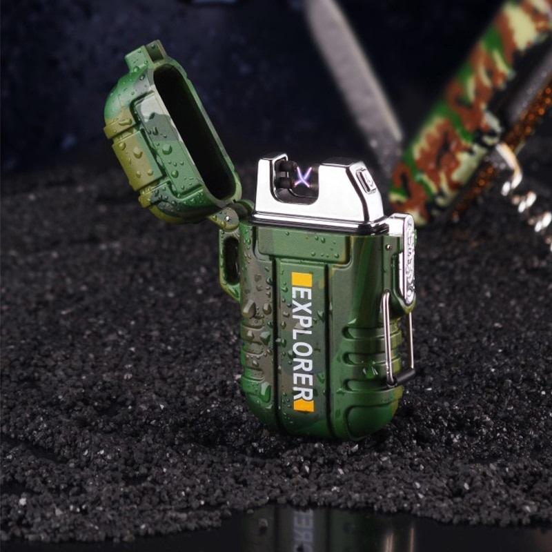 Plasma Lighter Outdoor Waterproof Tool