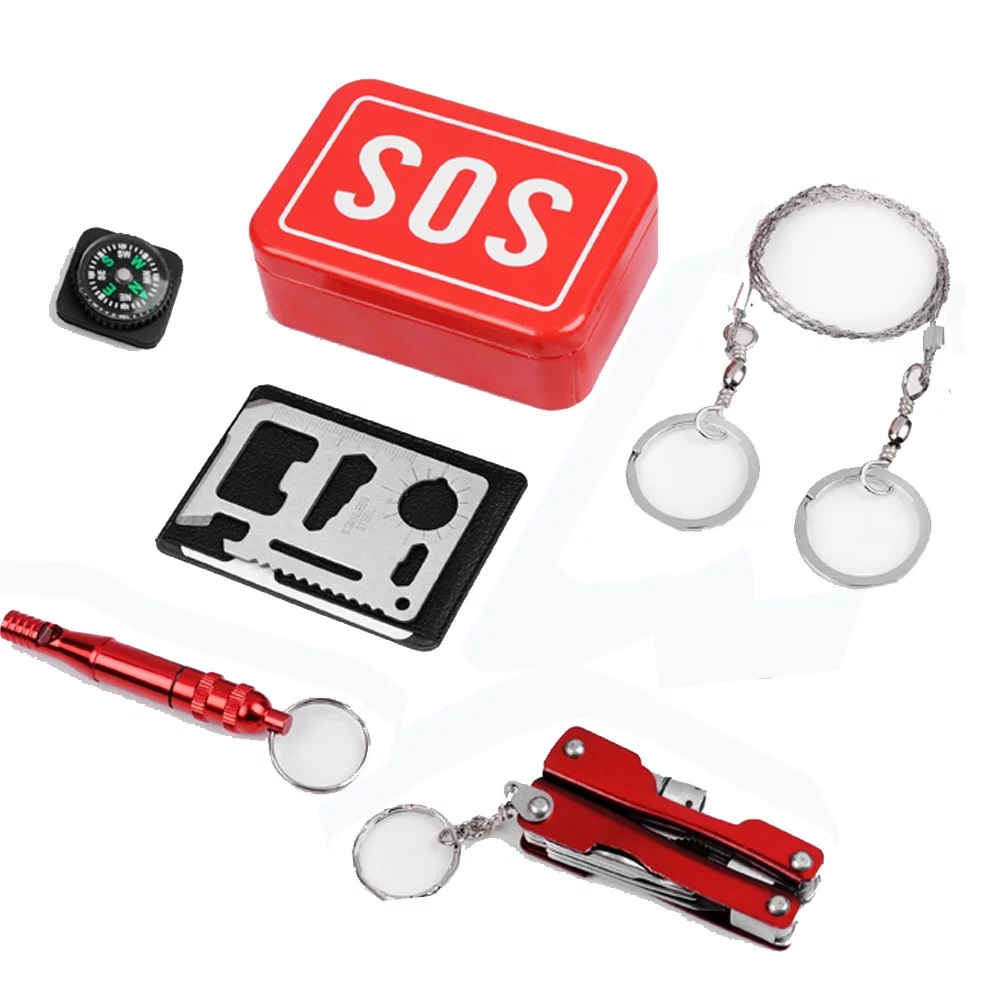 Survival Kit Outdoor Emergency Tools