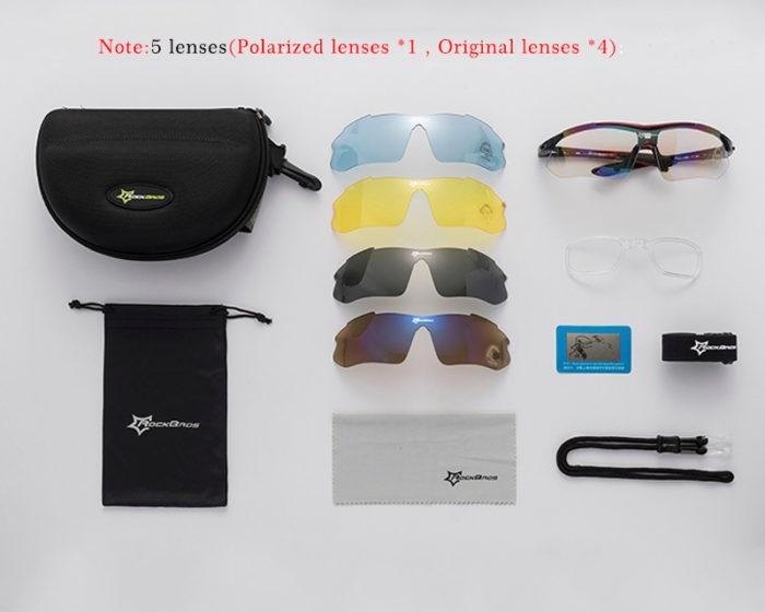 Sports Sunglasses Polarized Eyewear