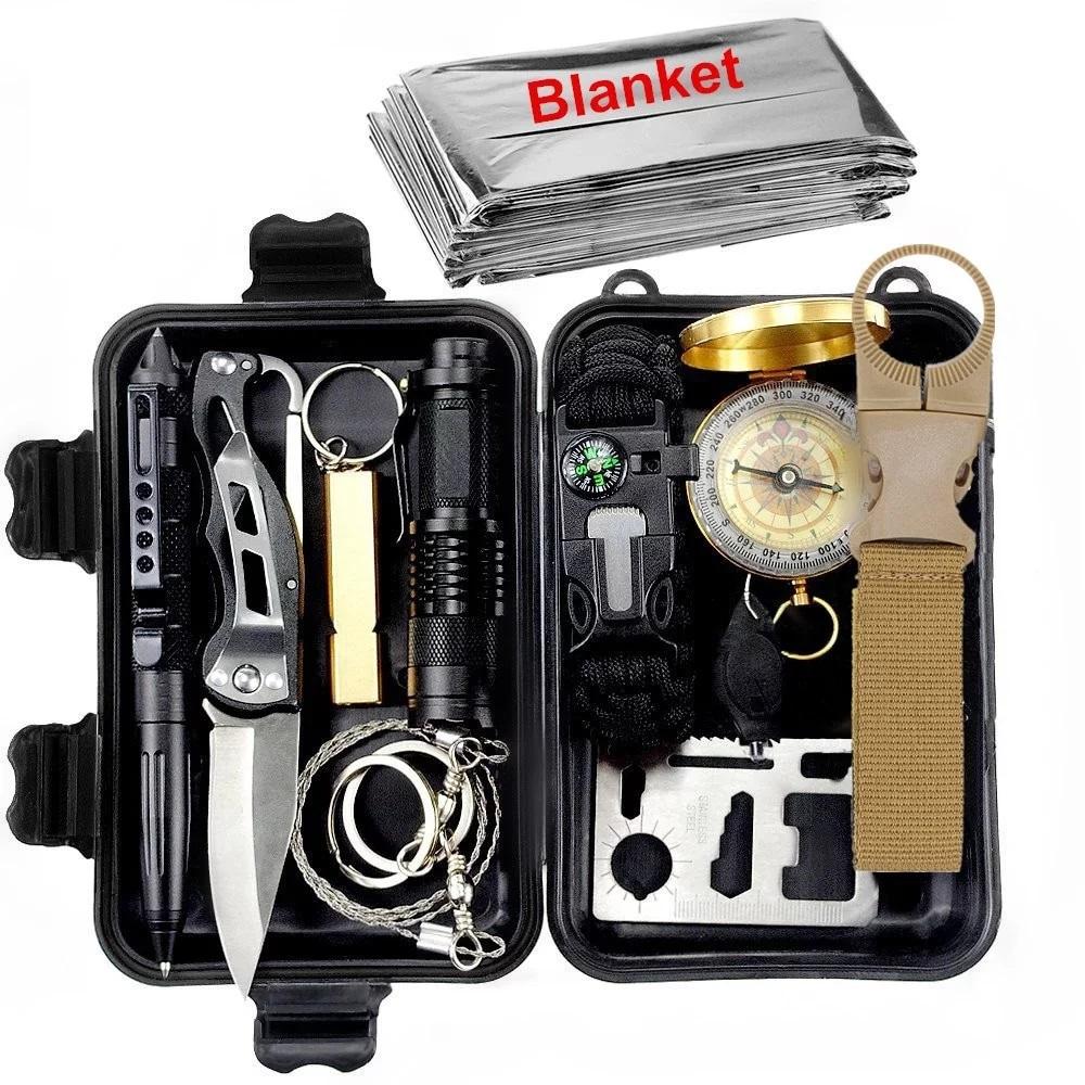 Survival Gear Kit Emergency Tools