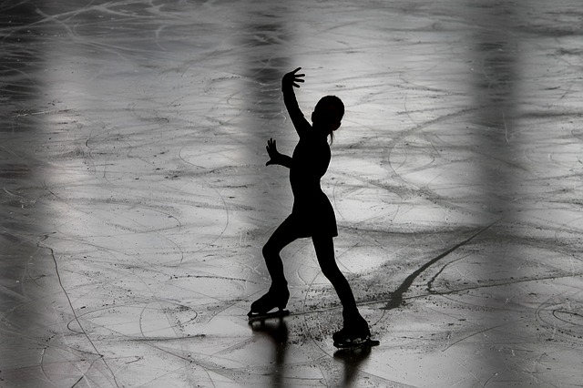 safe when ice skating