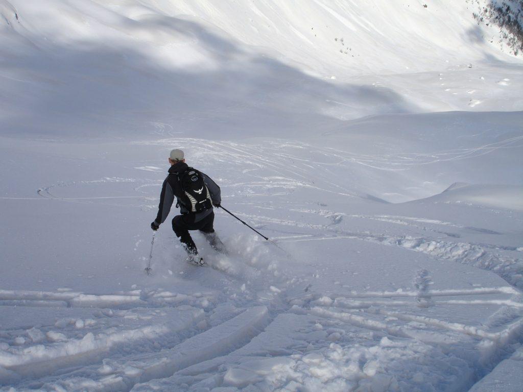 Many Sloppy Terrains To Do Sports Skiing