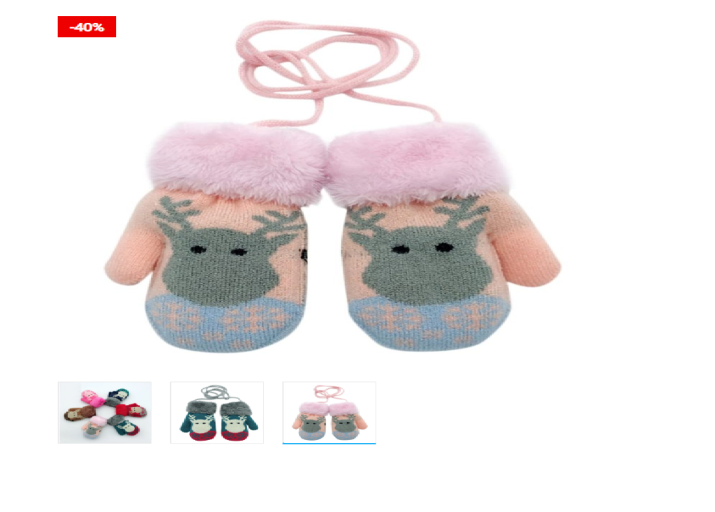 Cute and stylish Kids Winter Gloves Cute Mittens