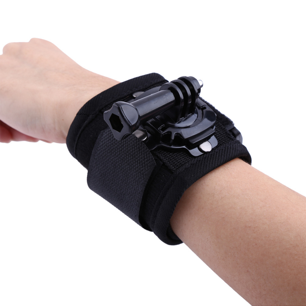Treasure The Convenience Of GoPro Wrist Strap Rotatable 360-Degrees